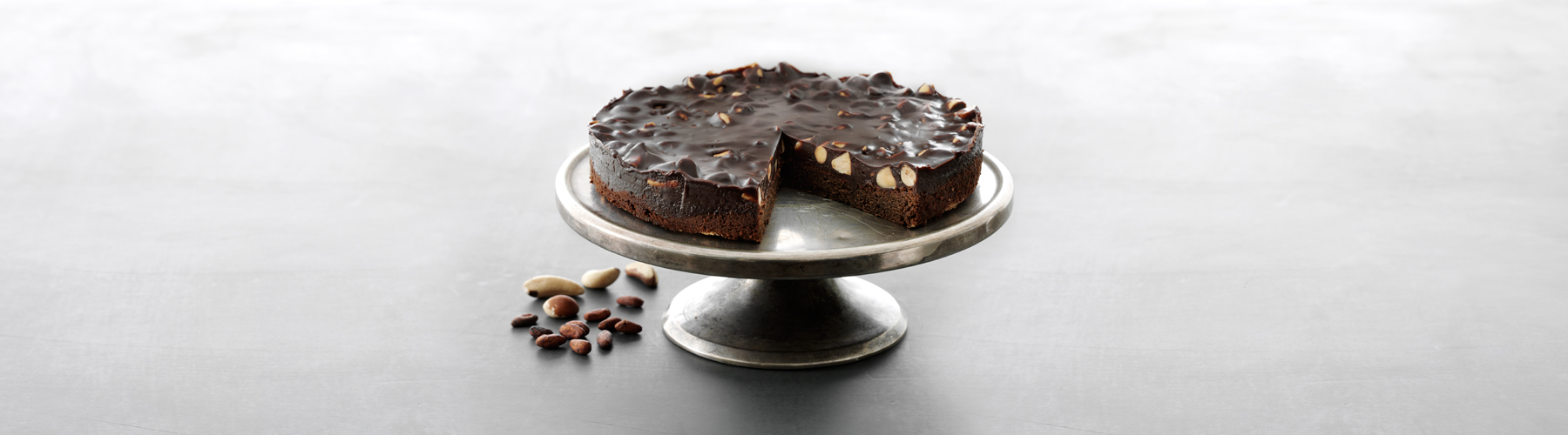 Cake baked with Oialla chocolate